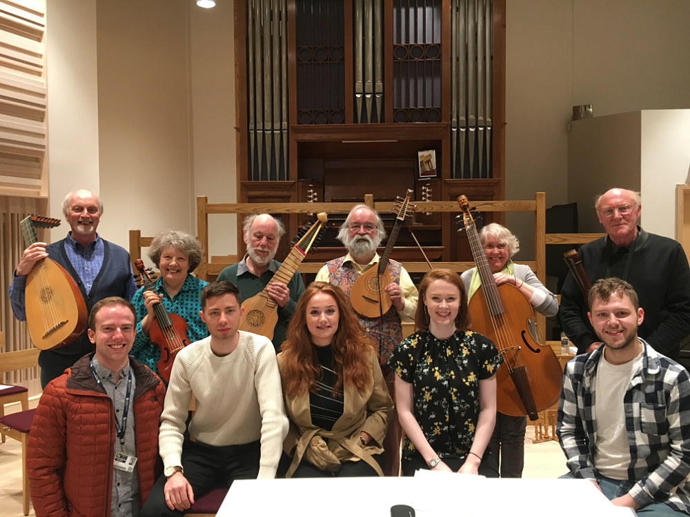 Lachrimae Consort at the Royal Birmingham Conservatoire - 8th April 2018