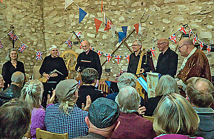 Lachrimae Consort at Donington le Heath Manor House, Leicestershire