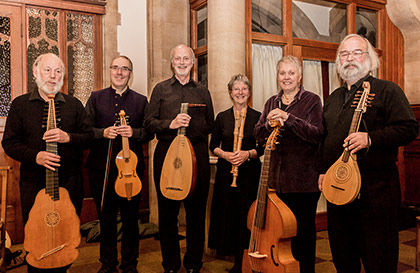 Lachrimae Consort at the Leicester Early Music Festival