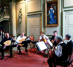 Lachrimae Consort at Middleton Hall, near Tamworth, Staffordshire, UK