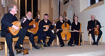 Lachrimae Consort at Walsgrave Church, Coventry, UK